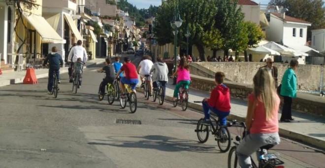 Ποδηλατάδα στη Ναύπακτο